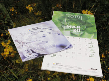 Calendario da muro personalizzabile