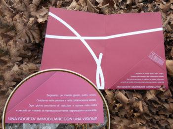 Carpetta personalizzata in carta riciclata al 100%